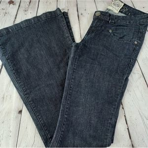 American Rag Blue Flared Jeans Size 0